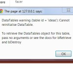 4 ways to fix – Cannot reinitialize jQuery DataTable