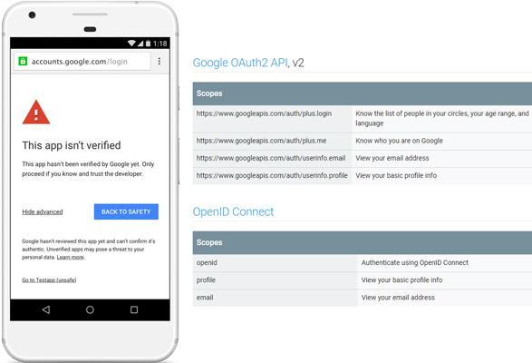 Google OAuth Client Verification