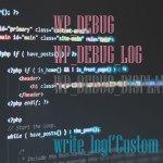 Debugging in WordPress – Writing Custom PHP Data or Log Messages