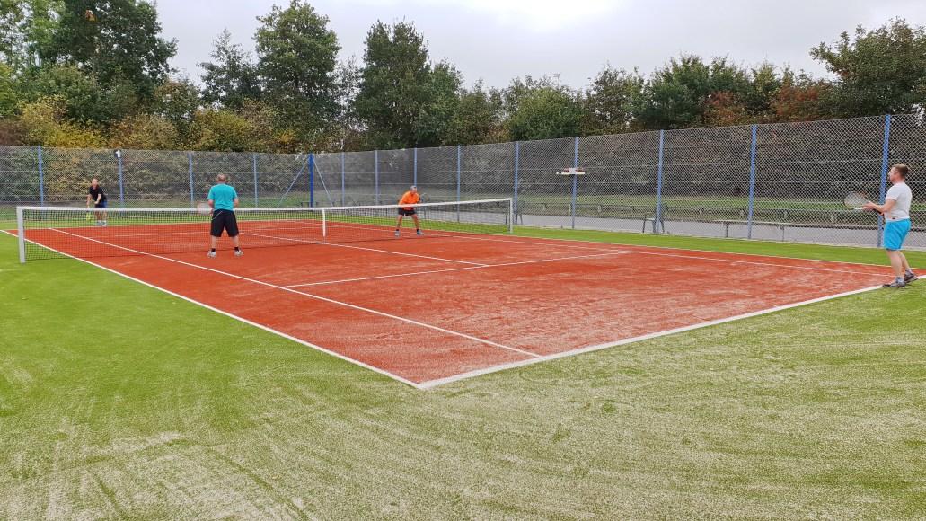 Tennis kunststofbane oktober 2018