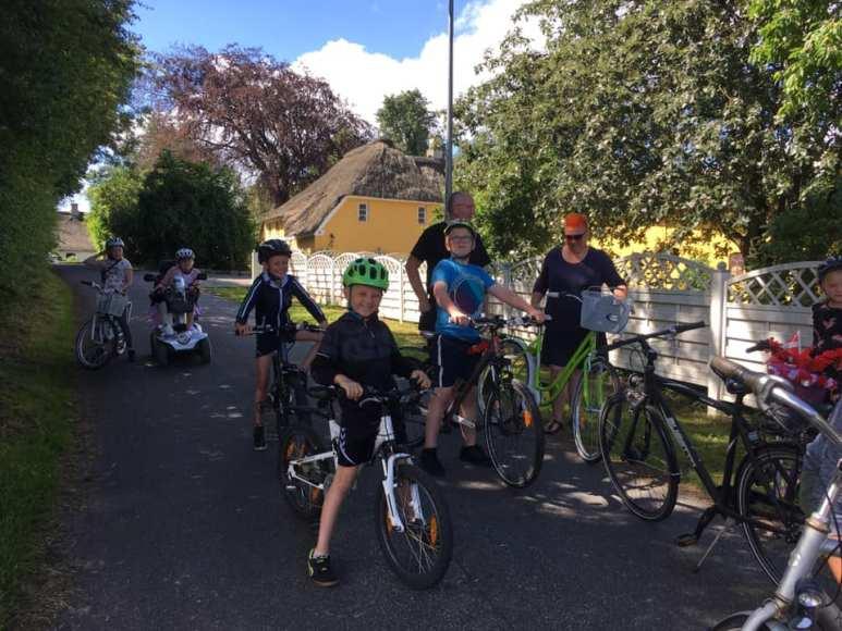 Som altid var der cykelringridning om fredagen. Foto: Tumbøl og omegn ringriderforening