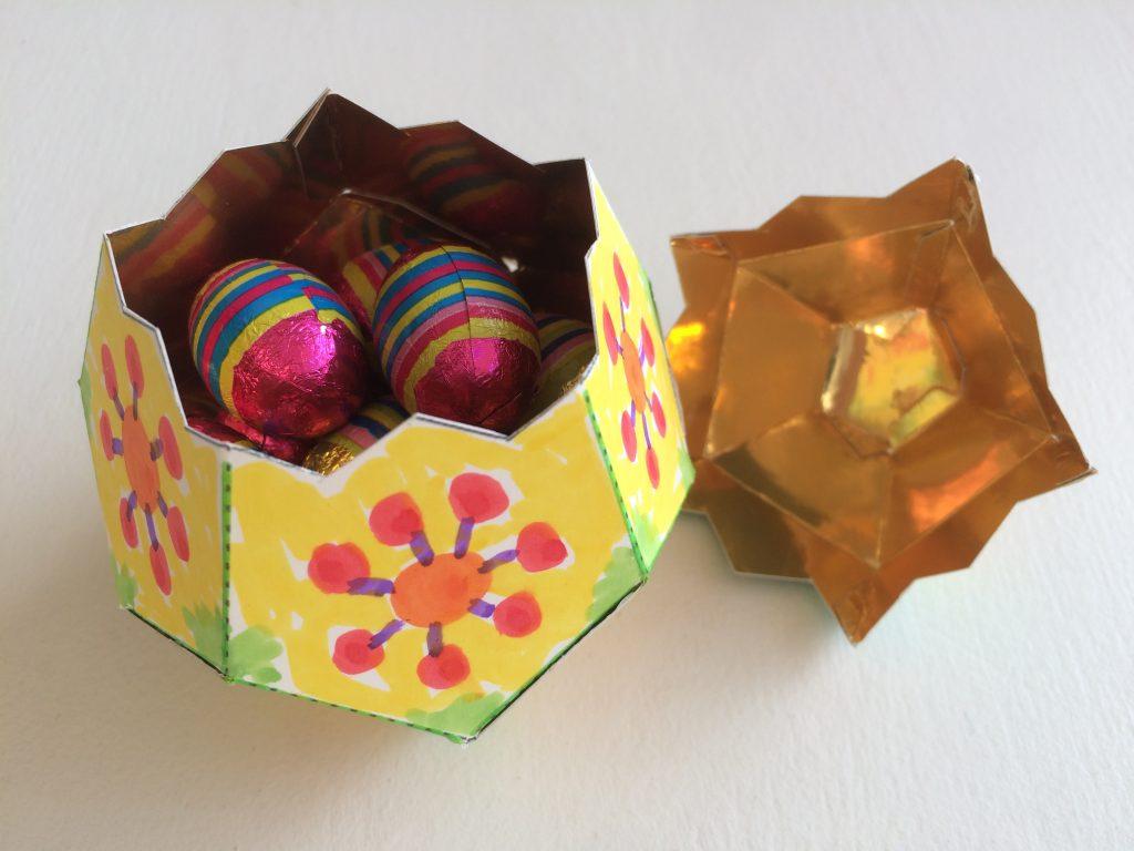 Easter Egg Art And Maths Lesson