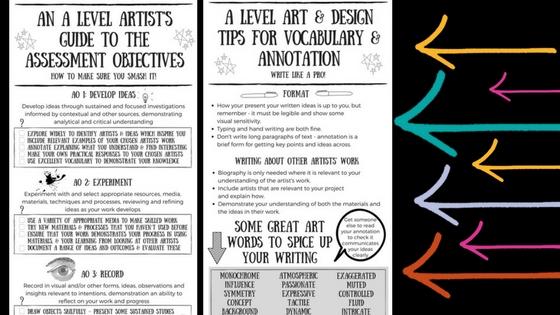 A Level Art Student Support Materials For 2018 Felt Tip Pen
