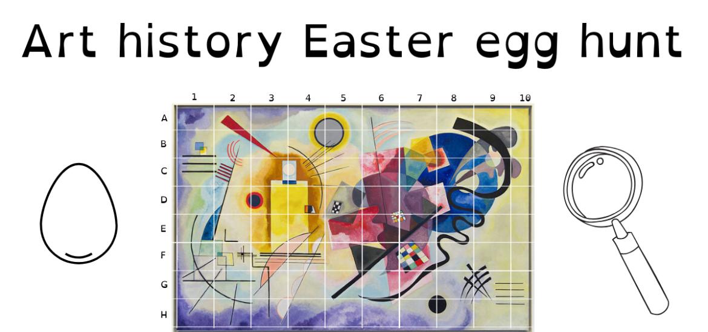 art history Easter egg hunt