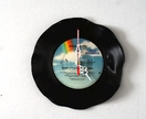Vinyl record clock (Bobby Brown)