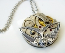 Pocket Watch Pendant - Vintage Steampunk Inspired - Timeless Relic