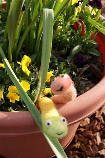 It's a Worm's Life - Felt Alive Needle Felted Worms