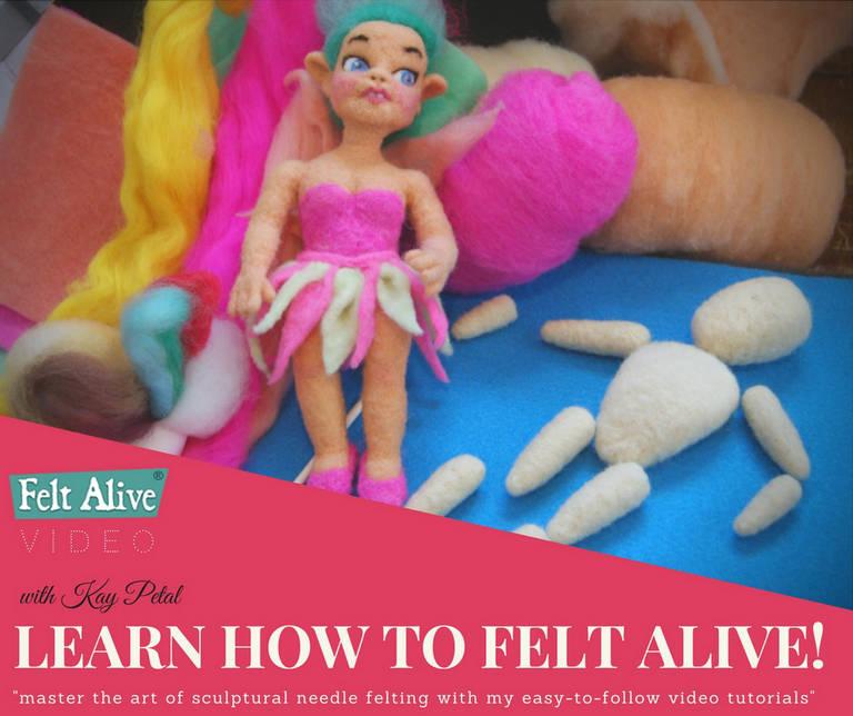 Felt Alive Needle Felting Video Tutorials
