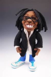 Needle Felted Whoopi Doll