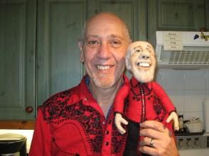Li'l Rabbit with John 'Rabbit' Bundrick - keyboardist with The Who