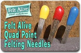 Quad Point Felting Needles