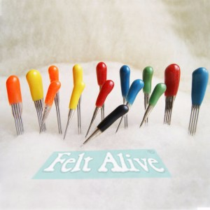 Color-Coded Felting Needles