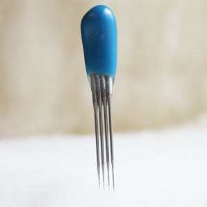 BLUE 42t Finisher QUAD Point Felting Needles -