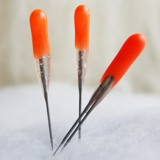 Orange Beginner Short Blade Felting Needles Combo Pack