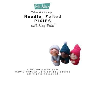 Needle Felting DVDs