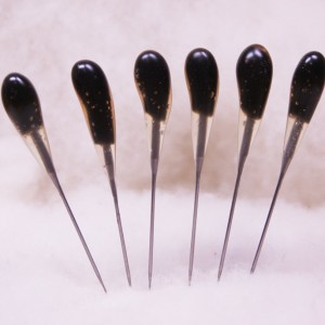 BLACK Heavy Duty 36t SINGLE POINT Felting Needles - 6 PACK