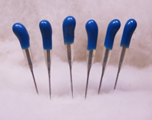 Blue Finisher 42 star Felting Needles 6 Pack