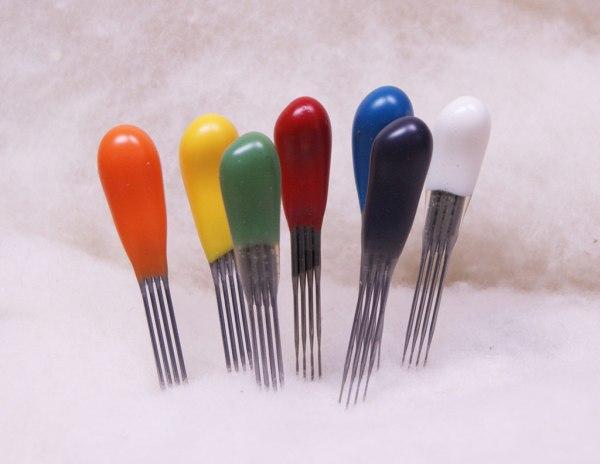 quad point felting needle sampler pack