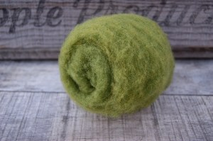 Avocado Needle Felting Wool