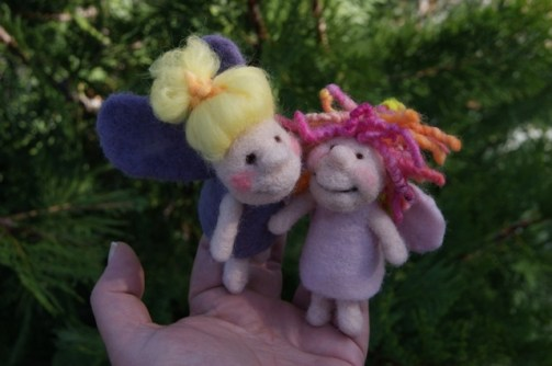 finger puppet fairies