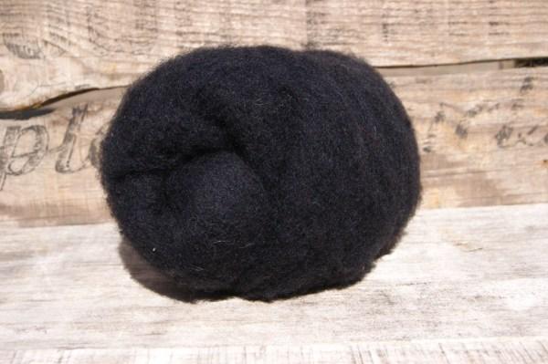 Black Needle Felting Wool