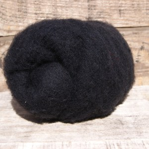 Black Needle Felting Wool