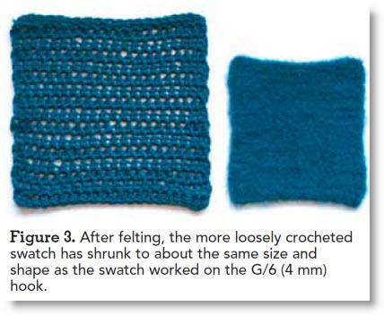 How To Felt Crochet Felting Instructions Plus 4 Free Felted Crochet