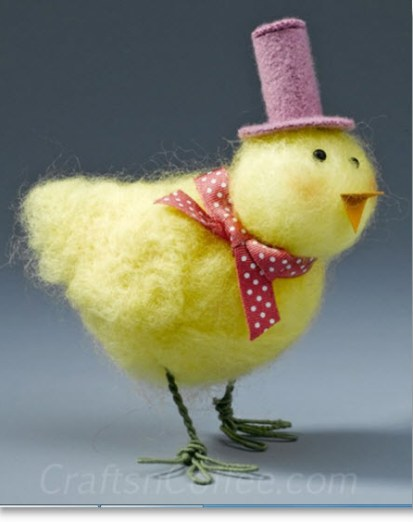 Needle Felted Chick