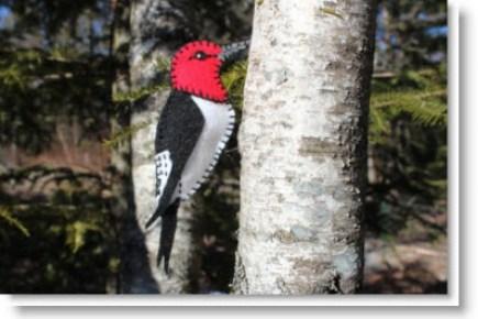 Susan's felt birds
