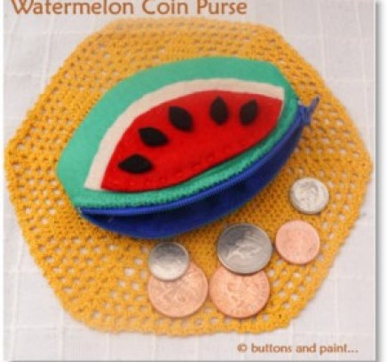 Watermelon Coin Purse