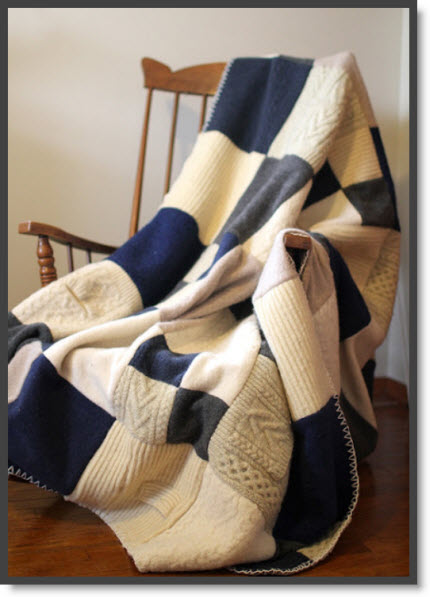 sweater blanket
