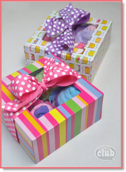Cupcake Gift Box for Tweens DIY