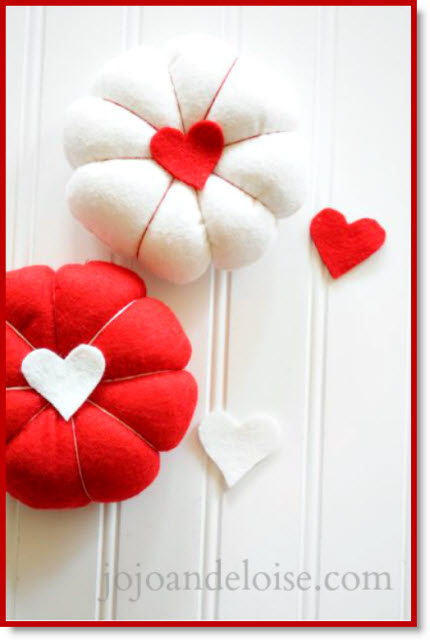 Diy Valentines Pin Cushion