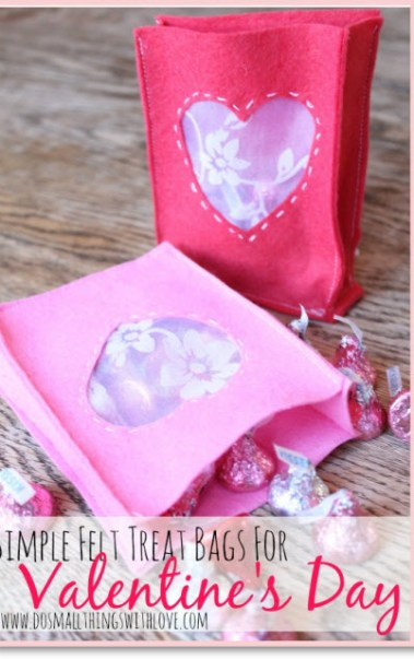 Simple Valentine's Treat Bags