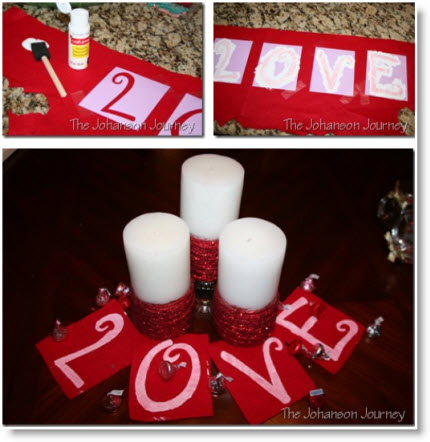 Valentine center piece
