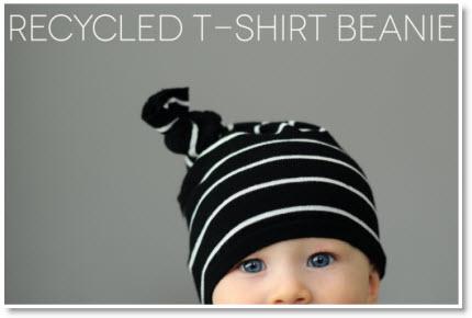 t-shirt beanie DIY