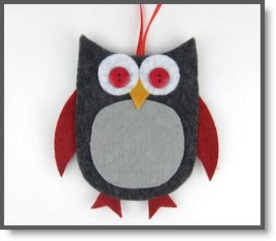 Owl Gift Card holder