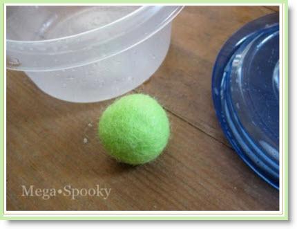 make felt balls