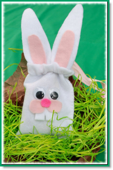 Bunny Wristlet Pouch tutorial