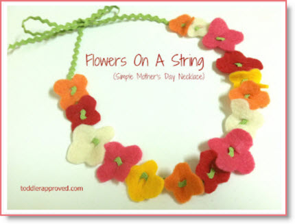 Mother's Day necklace and braclet