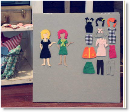 Dress Up Felt Board
