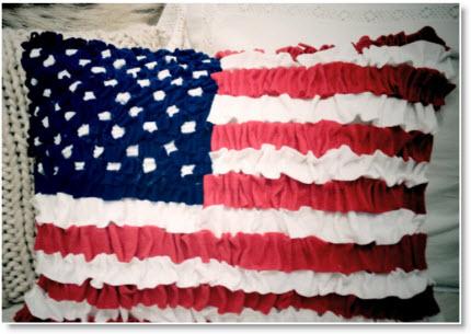 felt american flag