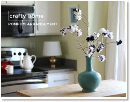 Pompom Bouquet Tutorial