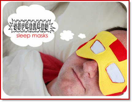 Superhero Sleep Masks
