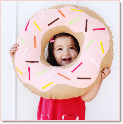 donut pillow