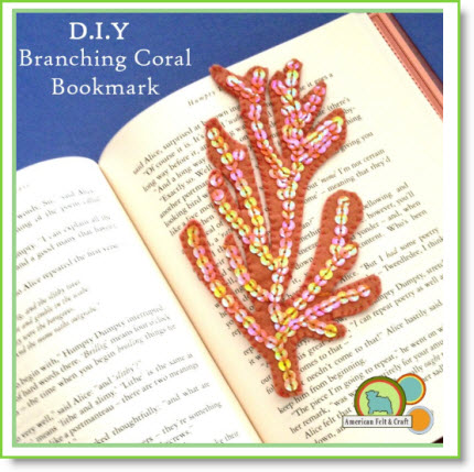 Branching Coral Bookmarks