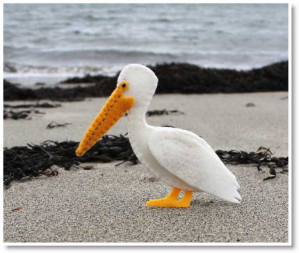 Felt Pelican tutorial