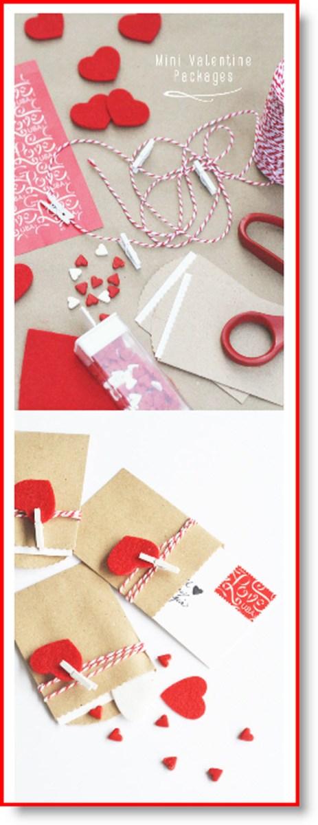 Make: Mini Package Valentines