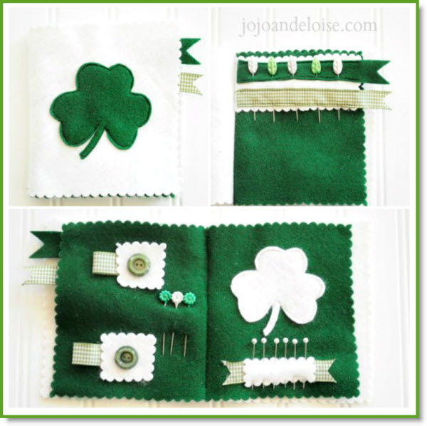 St Pat's needle book