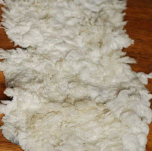 How To Felt A Large Faux Sheep Skin